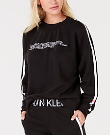 Calvin Klein Statement 1981 Long Sleeve Logo Sweatshirt