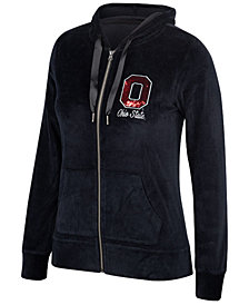 Authentic NCAA Apparel Women's Ohio State Buckeyes Ski Lodge Full-Zip Jacket