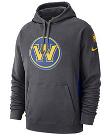 Nike Men's Golden State Warriors Earned Edition Courtside Hoodie