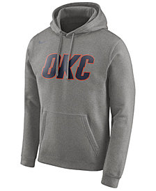 Nike Men's Oklahoma City Thunder Earned Edition Logo Essential Hoodie