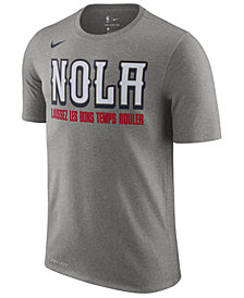 Nike Men's New Orleans Pelicans  Earned Edition T-Shirt