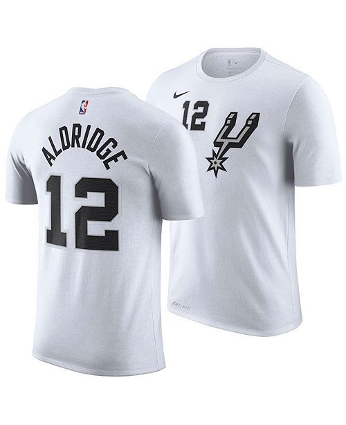 4ec615871 ... Nike Men's Lamarcus Aldridge San Antonio Spurs Earned Edition Player T-  ...