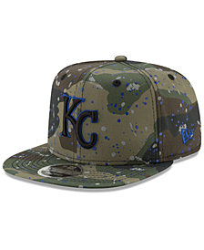 New Era Kansas City Royals Camo Spec 9FIFTY Snapback Cap