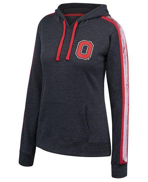 Authentic NCAA Apparel Women s Ohio State Buckeyes Handstand Hooded  Sweatshirt - Sports Fan Shop By Lids - Women - Macy s 18faba9801