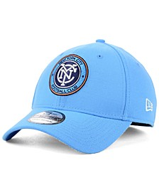 New York City FC Team Classic 39THIRTY Stretch Fitted Cap