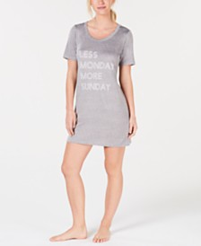 Jenni Soft Knit Sleepshirt, Created for Macy's
