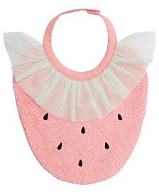 First Impressions Baby Girls Strawberry Bib, Created for Macy's