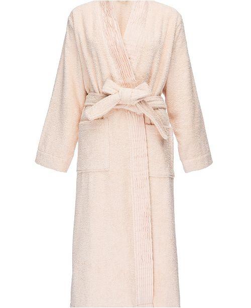 c31c0c4ba3 IGH Global Corporation Pleated Turkish Cotton Robe - Macy s