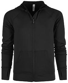 Ideology Big Girls Mesh-Pocket Hooded Jacket, Created for Macy's