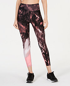 Calvin Klein Performance Palm-Print Leggings
