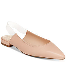 Nanette by Nanette Lepore Faith Pointed-Toe Flats, Created for Macy's