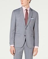 7188c73bc Hugo Boss Men's Modern-Fit Mini-Grid Jacket