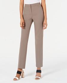 Alfani Modern Straight-Leg Pants, Regular, Short, & Long Lengths, Created for Macy's