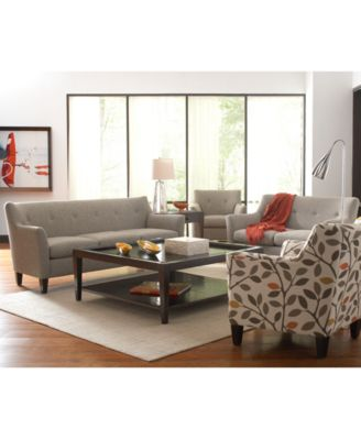 bastille table, square coffee table - furniture - macy's