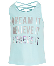 Ideology Little Girls Dream It Tank Top, Created for Macy's