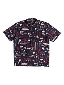Quiksilver Waterman Men's Mele Kalilimaka Shirt