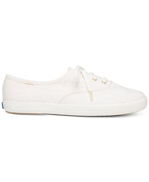 29187ffcabe Keds Women s Champion Eyelet Lace-Up Sneakers   Reviews - Athletic ...