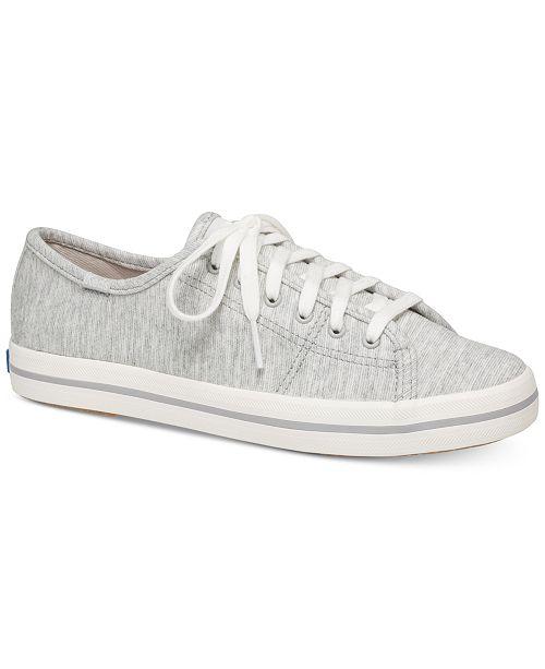 199089482d298 Keds Women s Kickstart Jersey Lace-Up Sneakers   Reviews - Athletic ...