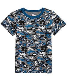 Epic Threads Little Boys Shark-Print T-Shirt, Created for Macy's