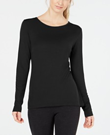Ideology Keyhole-Back Top, Created for Macy's
