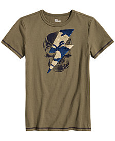 Epic Threads Big Boys Skull Sequin Graphic T-Shirt, Created for Macy's