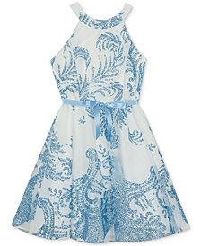 Rare Editions Big Girls Fit & Flare Dress