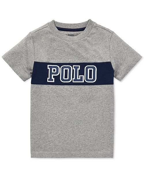 e42dcf002 Polo Ralph Lauren Toddler Boys Logo Graphic Cotton T-Shirt ...