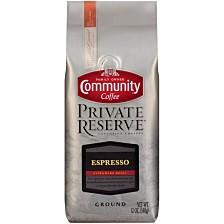 Private Reserve Espresso Extra Dark Roast Specialty-Grade Ground Coffee, 12 Oz - 6 Pack