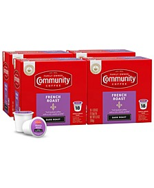 French Roast, Extra Dark Roast Single Serve Pods, Keurig K-Cup Brewer Compatible, 72 Ct