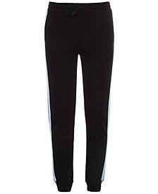 Ideology Big Girls Side-Stripe Jogger Pants, Created for Macy's