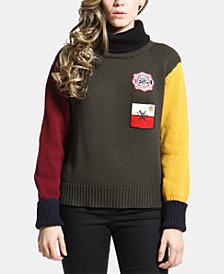 ARTISTIX Cotton Patchwork Sweater