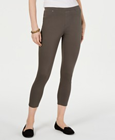 Style & Co Twill Capri Leggings, Created for Macy's