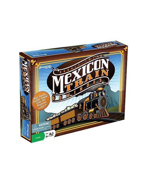 Pressman Toy - Mexican Train Dominoes