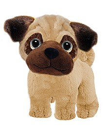 First and Main - Wuffles Bulldog  Plush Dog, 7 Inches Sitting
