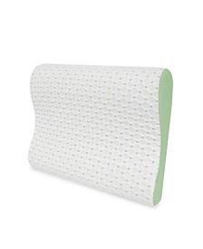 CLOSEOUT! SensorPEDIC SensorCOOL Memory Foam Contour Pillow with Gel Overlay