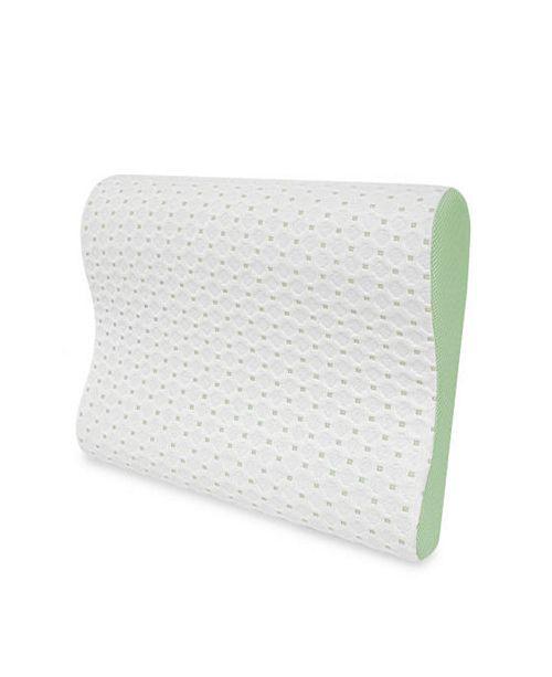 Sensorpedic Sensorcool Memory Foam Contour Pillow With Gel