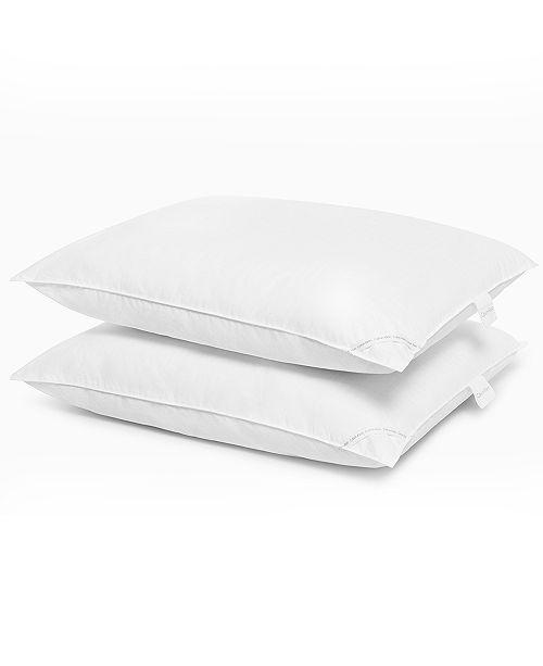 """Calvin Klein CLOSEOUT! Dash Logo 2 Pack Pillows, 230-Thread Count 20"""" x 26"""""""
