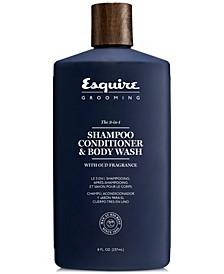 The 3-In-1 Shampoo, Conditioner & Body Wash, 8-oz.