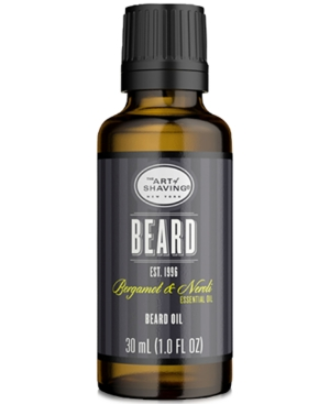 Packed with lightweight oils, The Art of Shaving\\\'s Beard Oil helps tame and moisturize even the toughest of beard hair. You\\\'ll be left with a non-greasy, conditioned beard with a healthy shine.