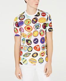 Love Moschino Men's Stamped T-Shirt