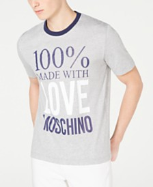 Love Moschino Men's Made With Love Graphic T-Shirt
