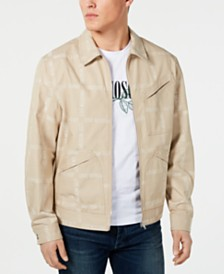 Love Moschino Men's Allover Logo Jacket