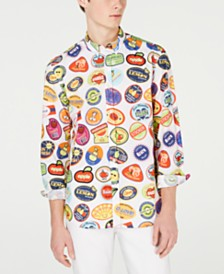 Love Moschino Men's Stamped Shirt