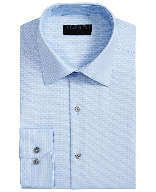 6e89e52ca Alfani Men's Slim-Fit AlfaTech Dobby Shirt, Created for Macy's ...