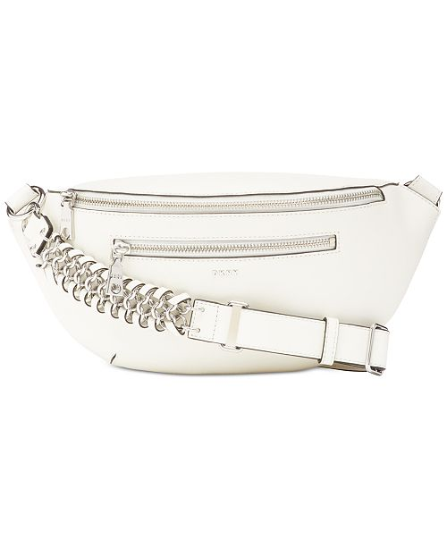 DKNY Bethune Leather Belt Bag, Created for Macy's