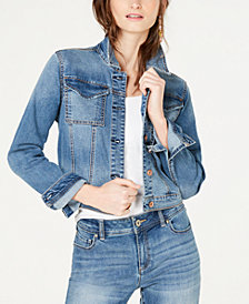I.N.C. Utility Jean Jacket, Created for Macy's