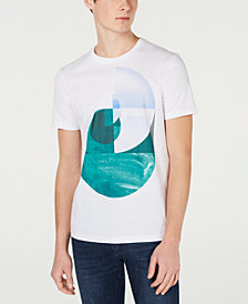 A X Armani Exchange Men's Slim-Fit Geometric Graphic T-Shirt