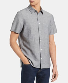 Calvin Klein Men's Chambray Pocket Shirt