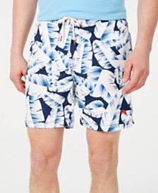 "Tommy Bahama Men's Deco-Fronds 7"" Graphic Board Shorts"
