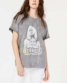 True Vintage Blondie-Graphic Cotton T-Shirt